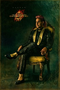 caesar flickerman Catching Fire movie