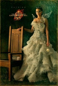 katniss everdeen portrait Catching Fire movie