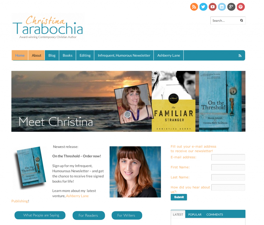 Christina Tarabochia author