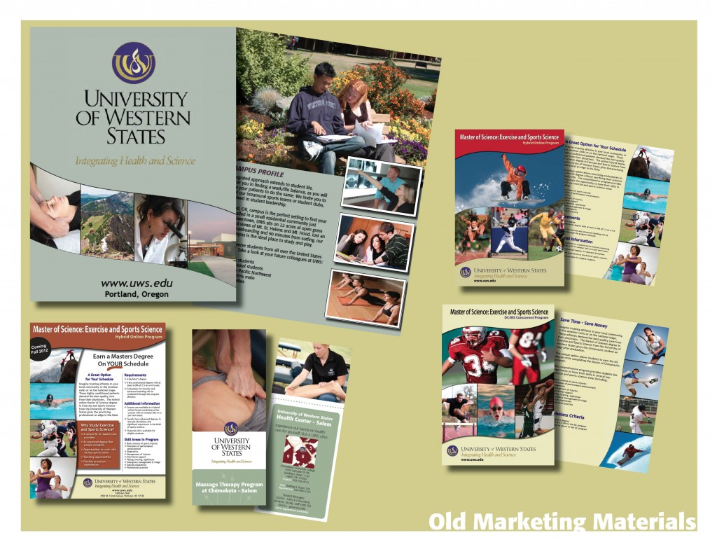 marketing materials to present