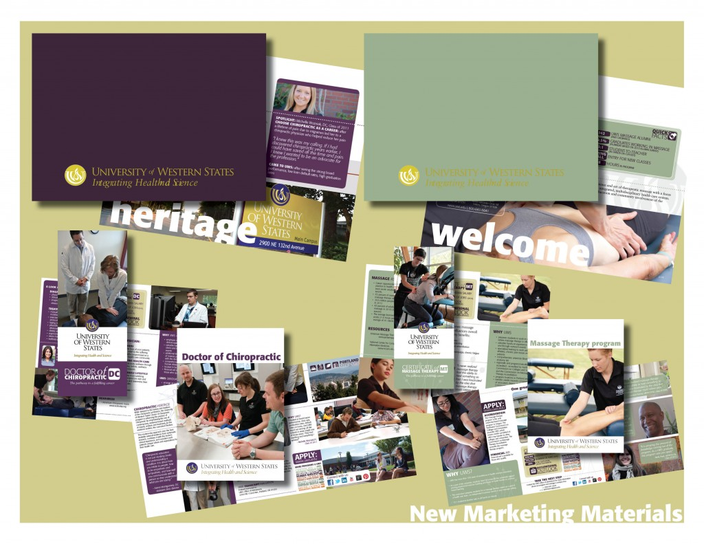 marketing materials to present2