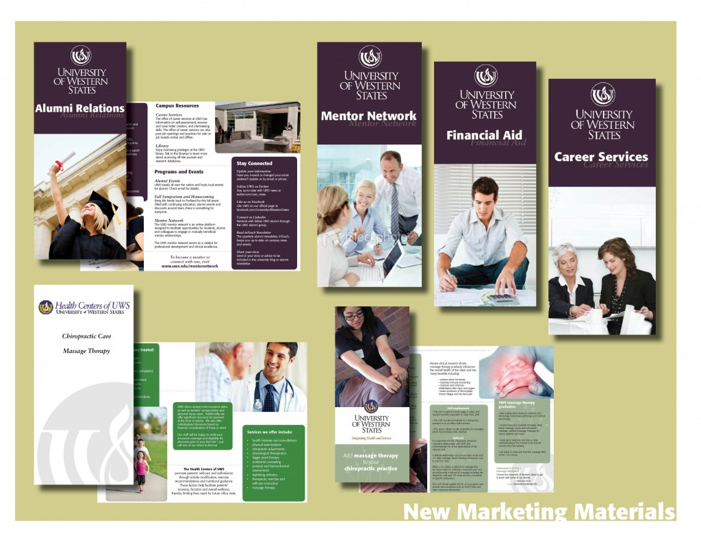 marketing materials to present4